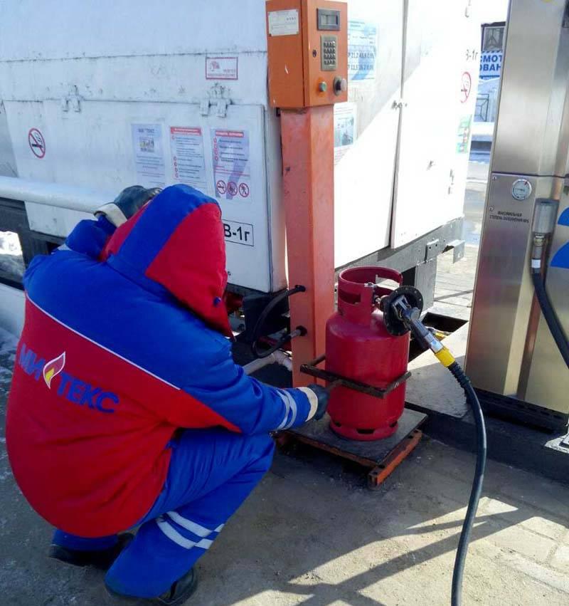 Правила заправки бытовых газовых баллонов - пожарная безопасность