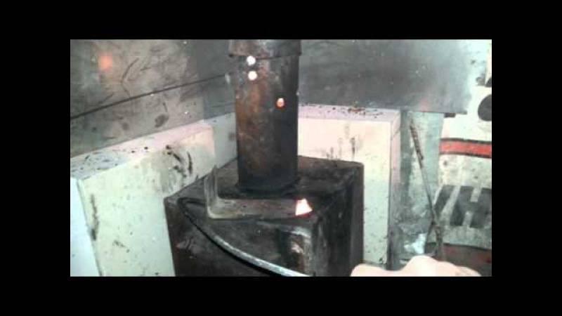 Печка-буржуйка своими руками - делаем из газового баллона, бидона, бочки, металла