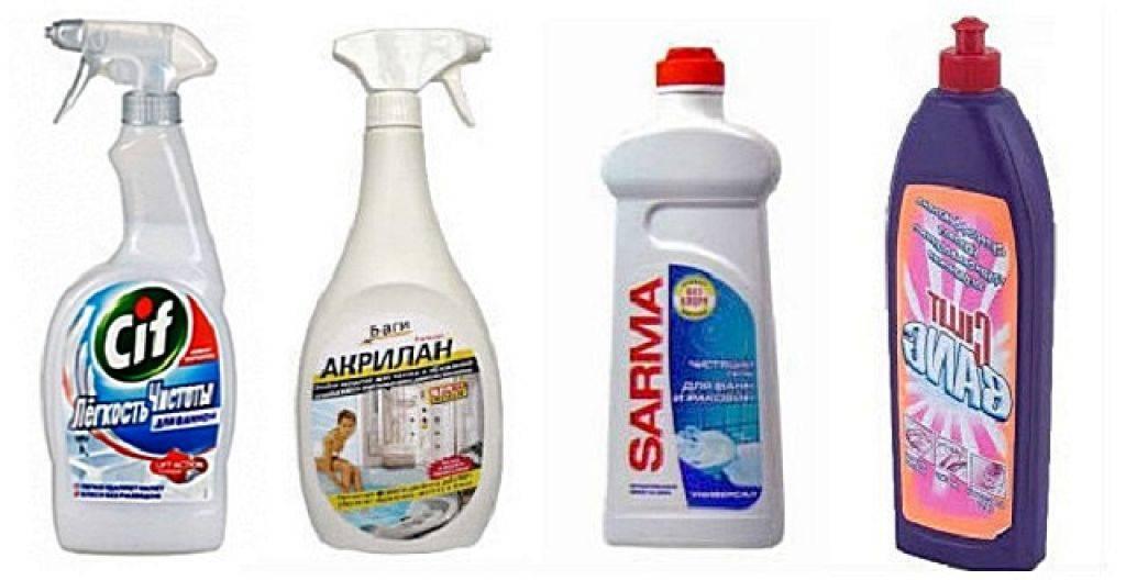 Чем мыть акриловую ванну. 5 лучших средств.