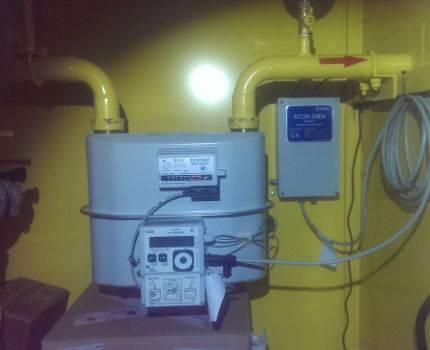 Виды корректоров объёмов газа и особенности их применения