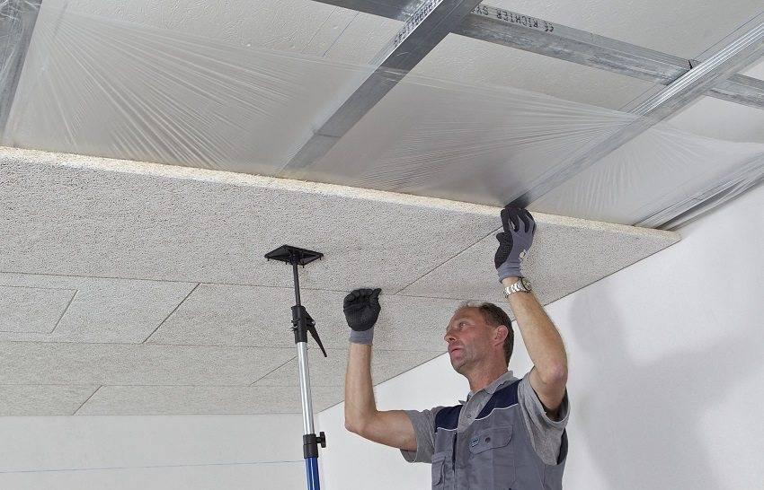 Как сделать шумоизоляцию потолка? – разбираем виды, материалы и технологию