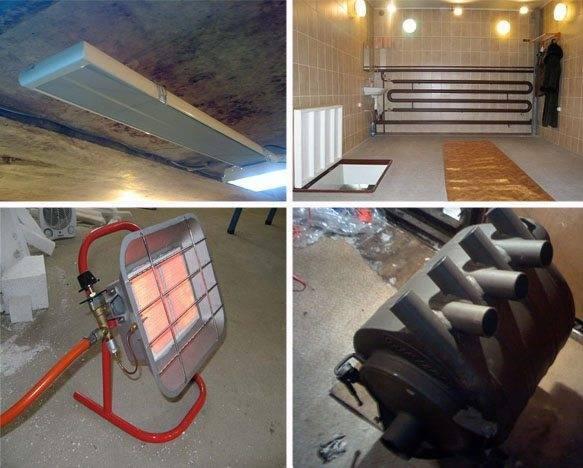 Отопление гаража: самый экономный и дешёвый способ