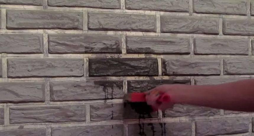 Делаем имитацию каменной кладки или кирпича своими руками в домашних условиях: обзор +видео новичку