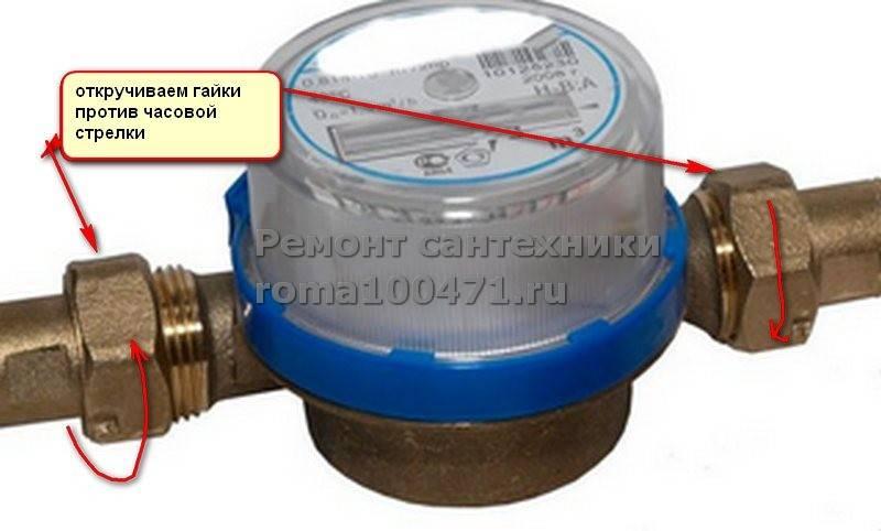 Порядок и правила установки счетчиков воды: как правильно провести монтаж и опломбировать