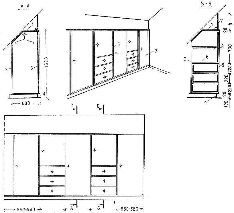 Как сделать своими руками шкаф: разновидности шкафов + основные этапы создания и сборки