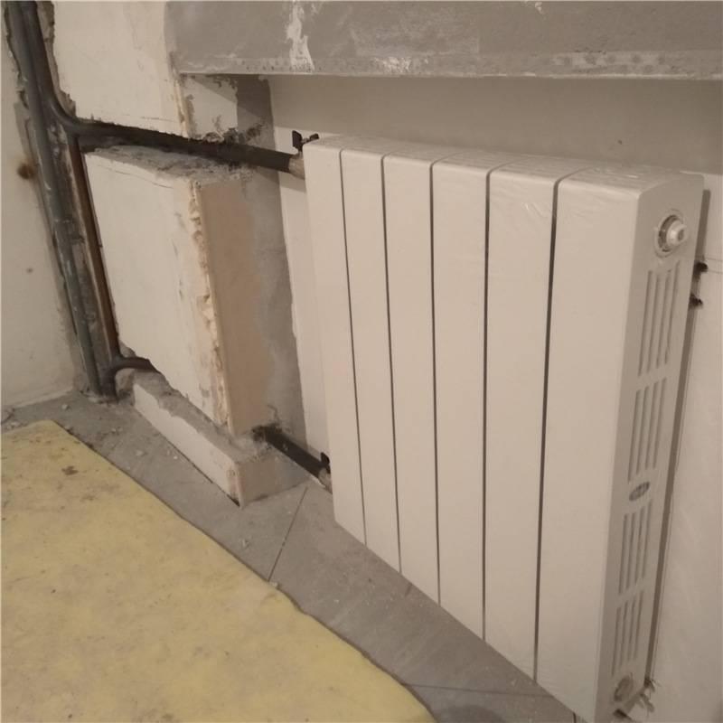 Замена батарей отопления на газосварке: достоинства, поэтапная установка радиаторов