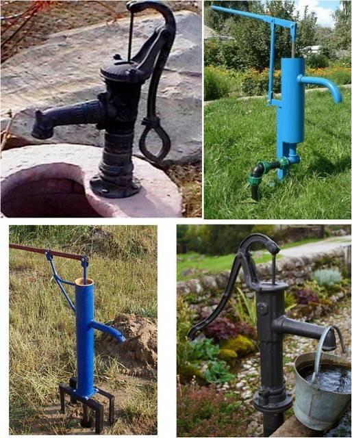 Ручной насос для воды своими руками в разных вариантах