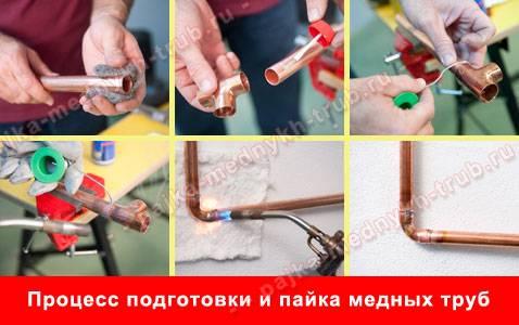 Соединение труб отопления: полипропиленовых, металлопластиковых, стальных и медных
