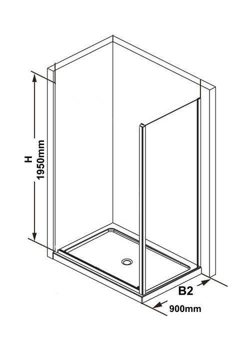Какой размер душевого уголка наиболее комфортен в использовании?