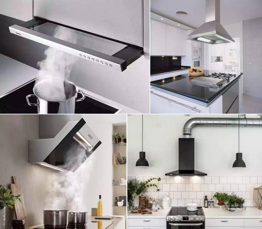 Каких размеров должна быть вытяжка для кухни?