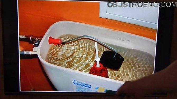 Конденсат на бачке унитаза как избавиться - все о канализации