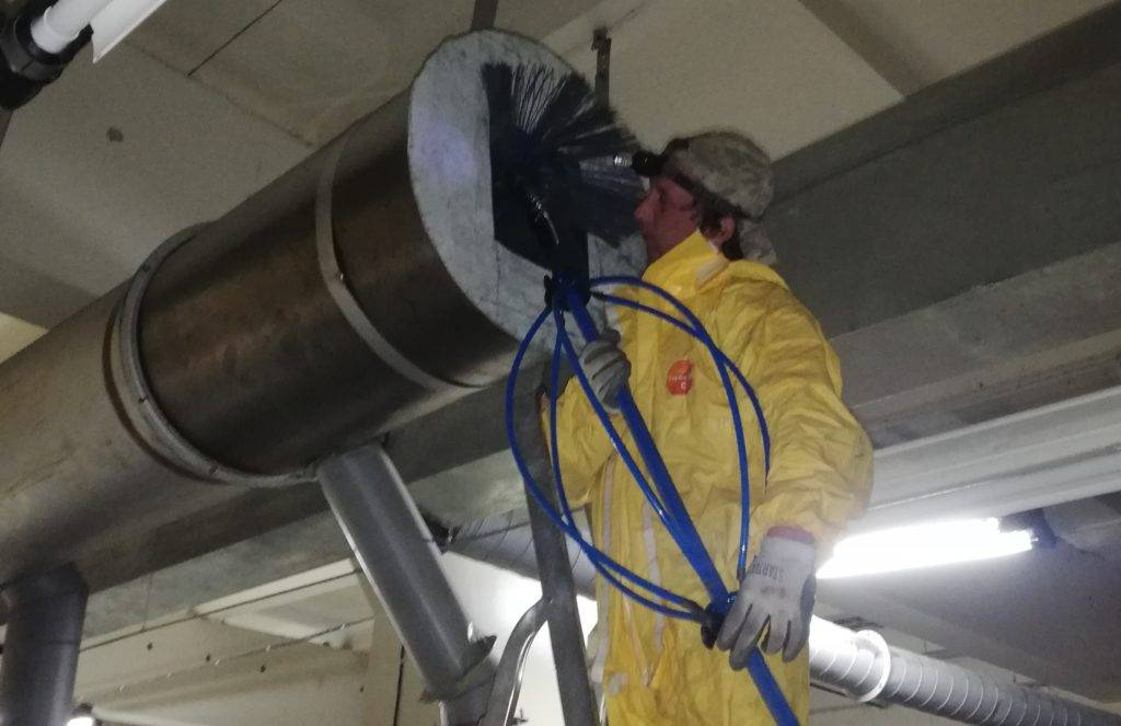 Очистка и дезинфекция систем вентиляции и кондиционирования. подробный обзор
