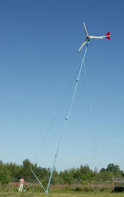Как сделать ветряную электростанцию своими руками