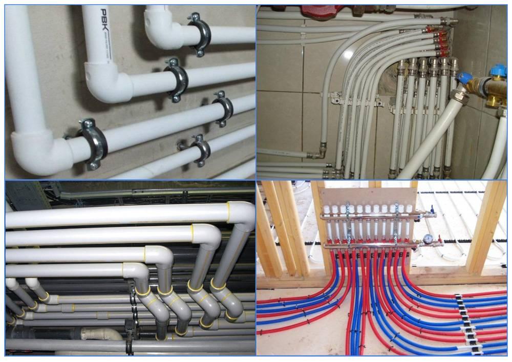 Советы по выбору отопительных труб для частного дома по диаметру