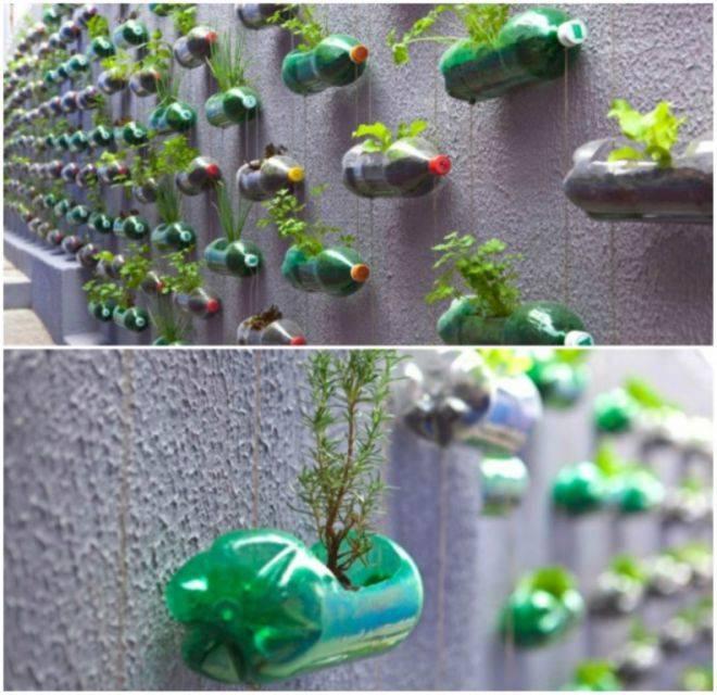Переработка пластиковых бутылок и использование вторсырья