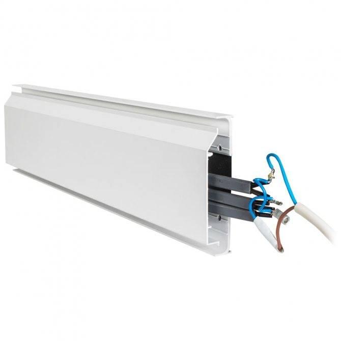 Электрический теплый плинтус: особенности установки и эксплуатации
