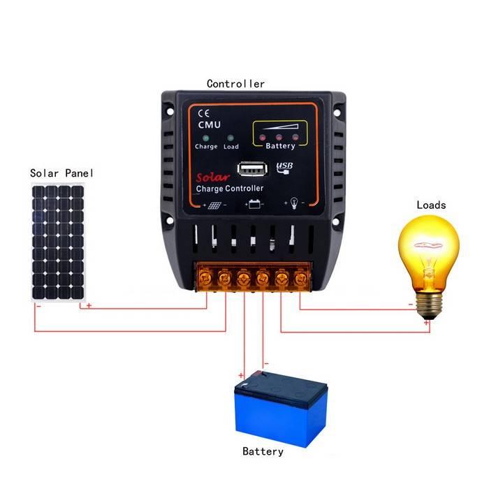 Подключение солнечных панелей, схемы соединения