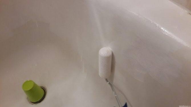Чем покрасить ванну внутри в домашних условиях - акриловую, железную, эмалированную