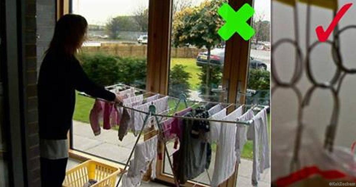 Почему нельзя сушить белье в квартире: разбираемся вместе
