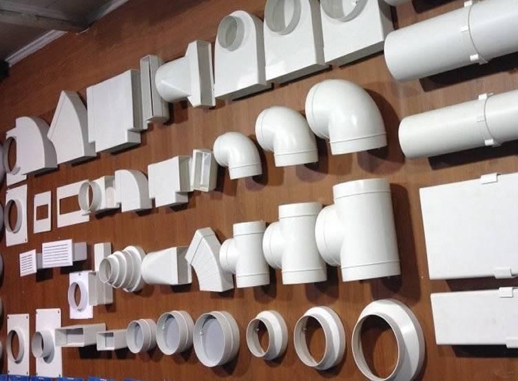 Диаметр трубы для вытяжки: вентиляционные трубопроводы в виде трубы на кухне