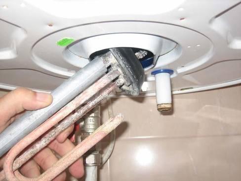 Как заменить тэн в водонагревателе своими руками: инструкция