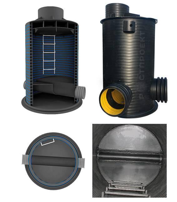 Устройство канализационного колодца: разновидности, монтаж   гидро гуру