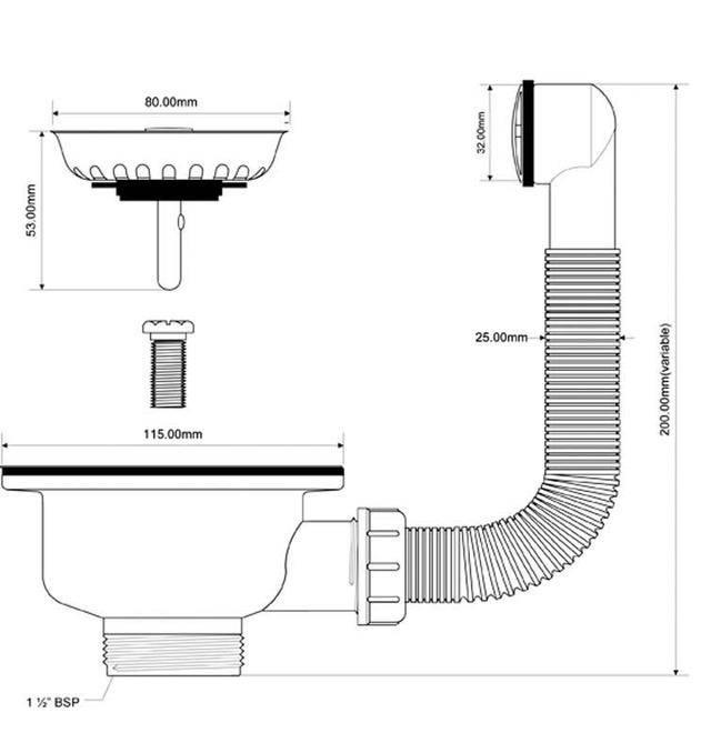 Как установить слив перелив для ванны + видео