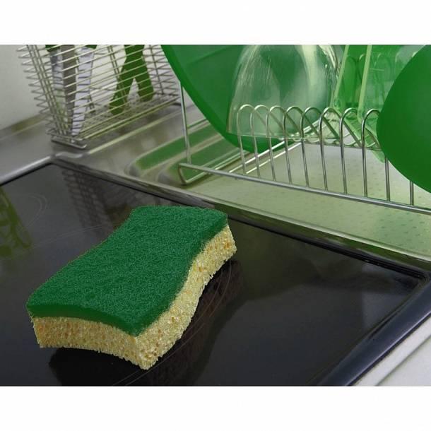 Что собой представляет металлическая губка для мытья посуды, как ею правильно пользоваться?