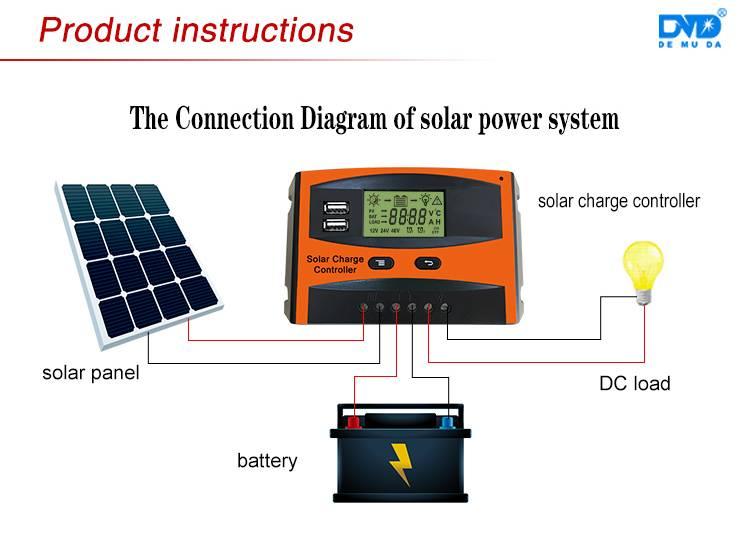 Простой контроллер заряда для солнечной панели