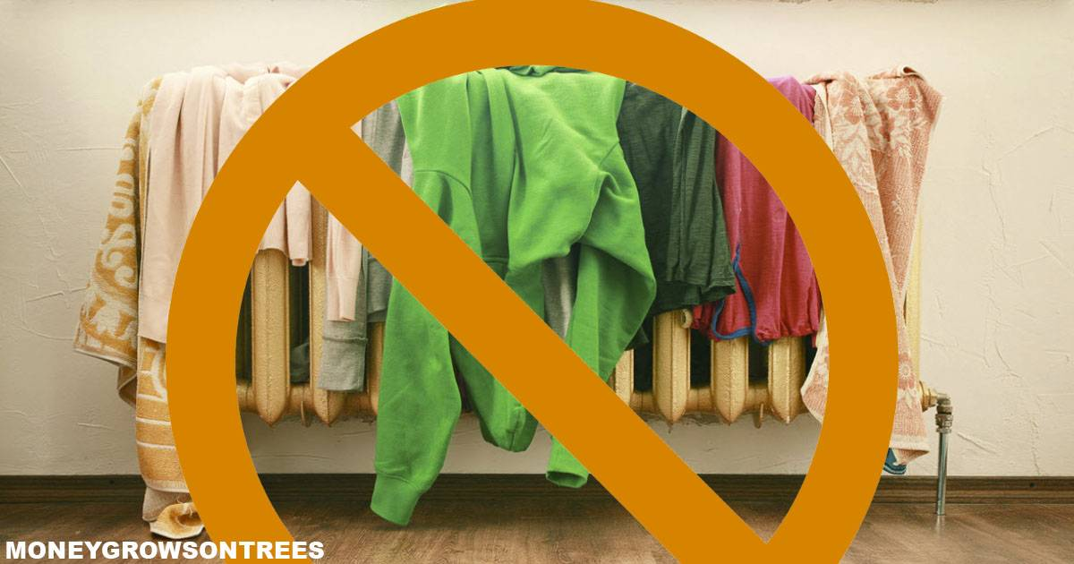 Как правильно сушить разные вещи в квартире после стирки: способы, советы, отзывы. почему опасно сушить вещи после стирки в доме, квартире и как уменьшить негативное влияние от сушки белья?