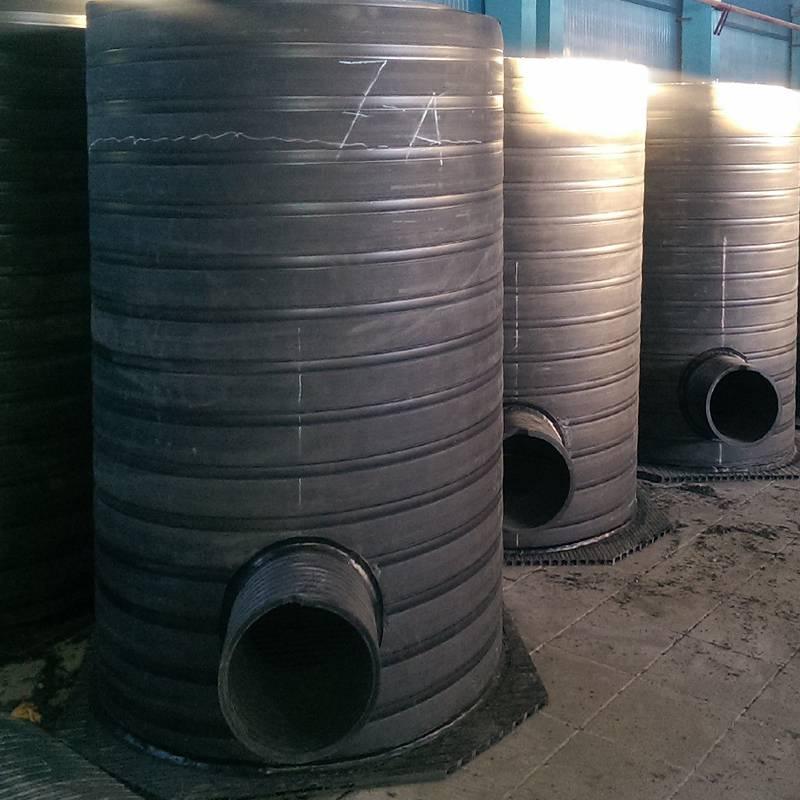 Пластиковые канализационные колодцы: разновидности, область применения, особенности монтажа ???? сантехника