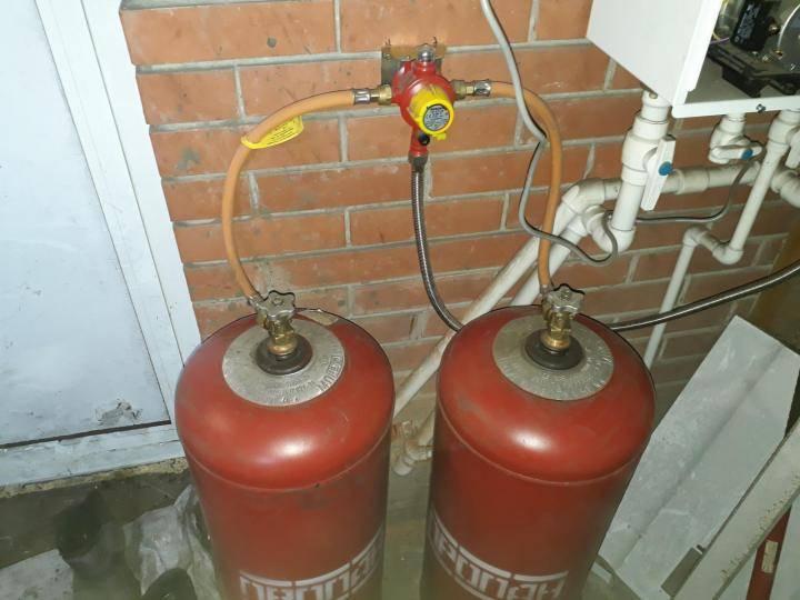 Отопление дачи газом из баллонов - всё об отоплении и кондиционировании