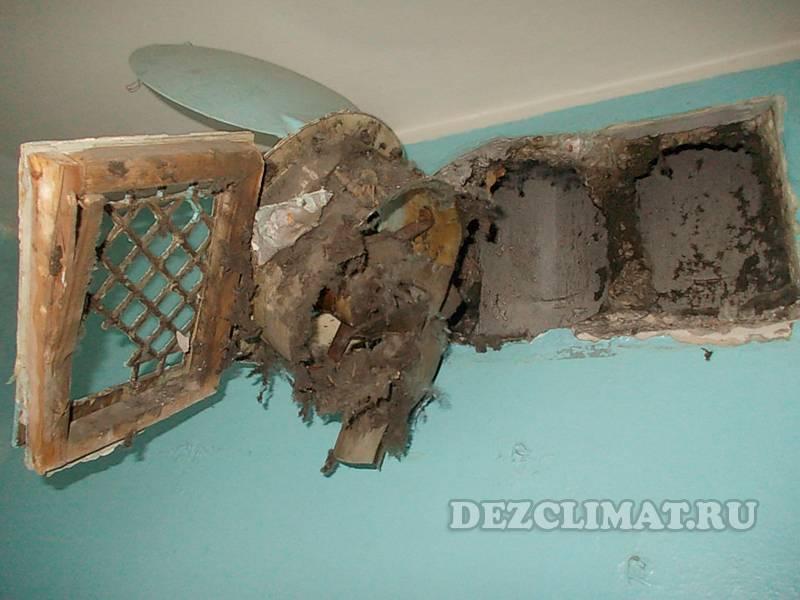 Этапы чистки вентиляции в многоквартирном доме