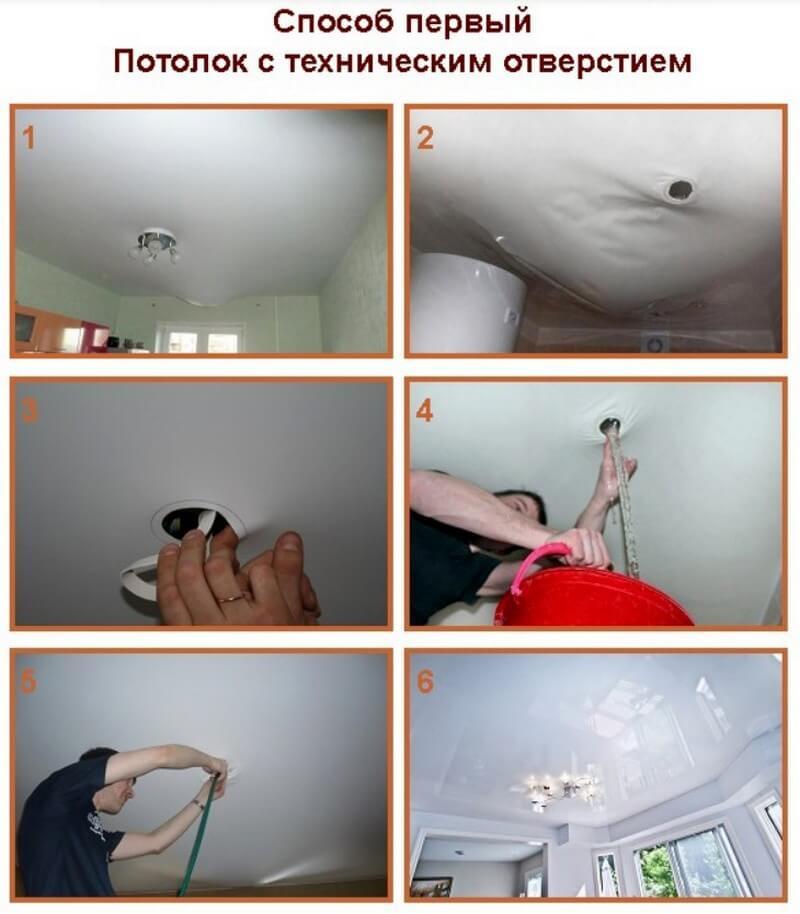 Ремонт потолка после затопления: устраняем последствия