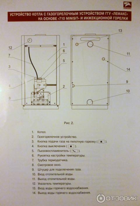Как работает датчик тяги газового котла: принципы действия и работы