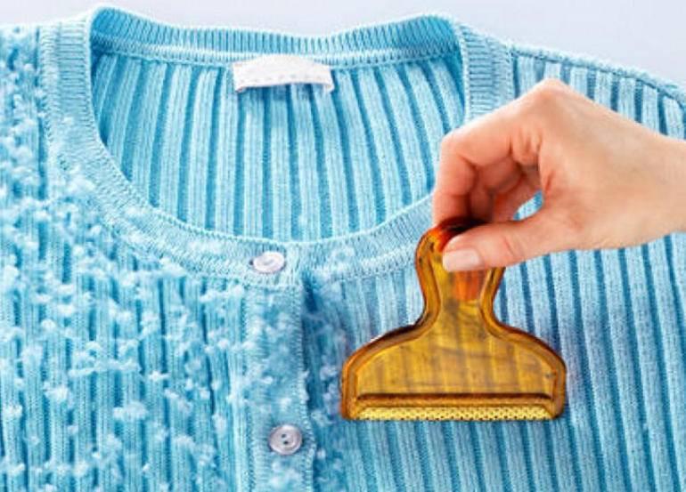 Как убрать катышки с одежды в домашних условиях: 14 средств и способов их удаления