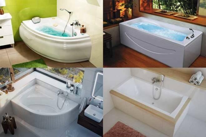 Как выбрать акриловую ванну: советы экспертов, анализ производителей и отзывы покупателей + видео