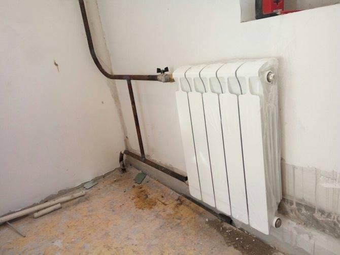 Замена батарей отопления в квартире: кто должен это делать и как установить самому