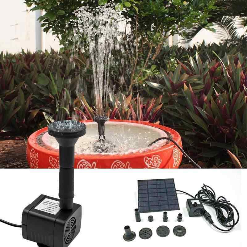 Насосы для фонтанов и водопадов как правильно выбрать и самостоятельно установить