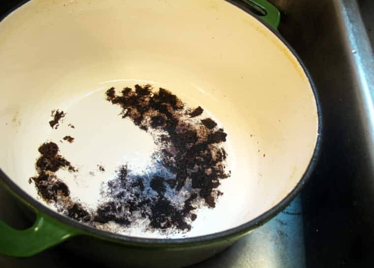 Как отмыть пригоревшую кастрюлю, как очистить пригоревшее дно у кастрюли из нержавейки, как почистить