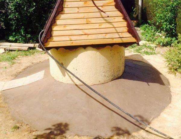 Правила самостоятельного выполнения глиняного замка для колодца