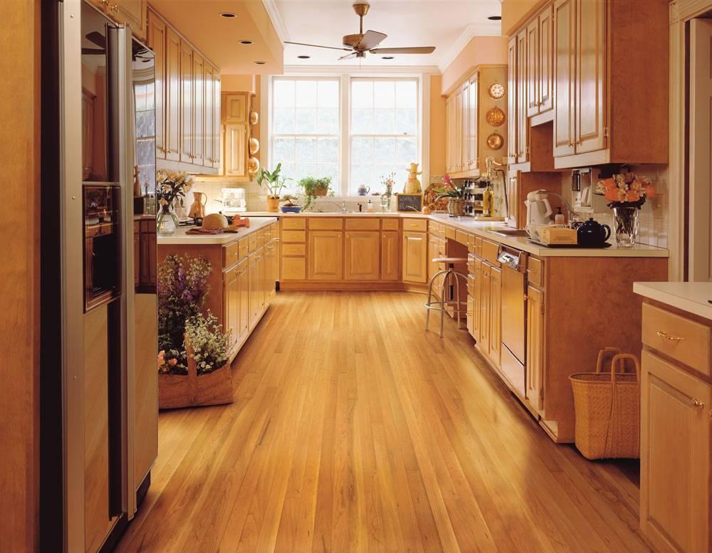 Какой пол на кухне лучше сделать: обзор популярных видов покрытий пола для кухни