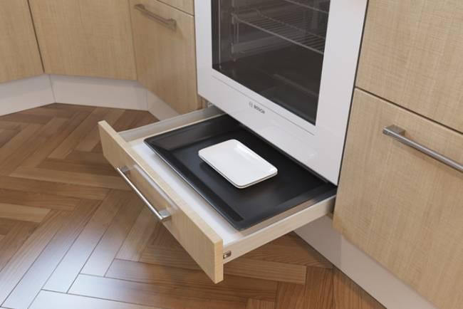 Для чего нужен ящик под плитой? это интересно