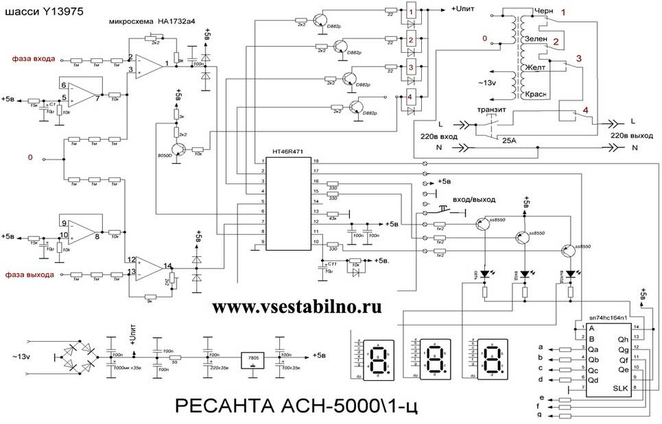 Стабилизатор тока: схема, регулируемый, импульсный, конструкция и назначение