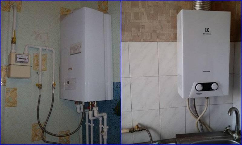 Установка газовой колонки в квартире своими руками: ???? нормы и требования