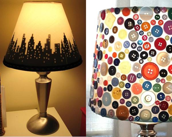 Абажуры для светильников своими руками: мастер-класс, фото- и видеоуроки