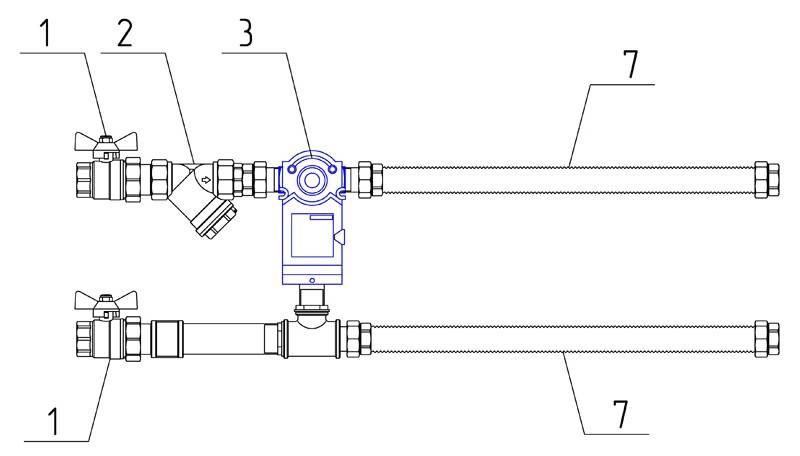 Схема коллектора теплого пола: коллекторная группа водяного пола, подключение узла в сборке с насосом, как собрать распределительный коллектор, фото и видео