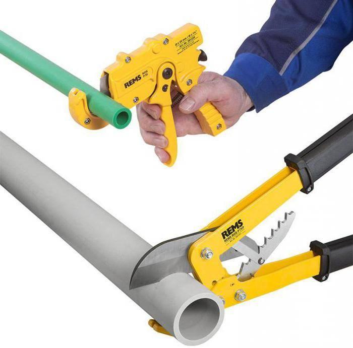 Ножницы для резки полипропиленовых труб: какие выбрать и как правильно пользоваться