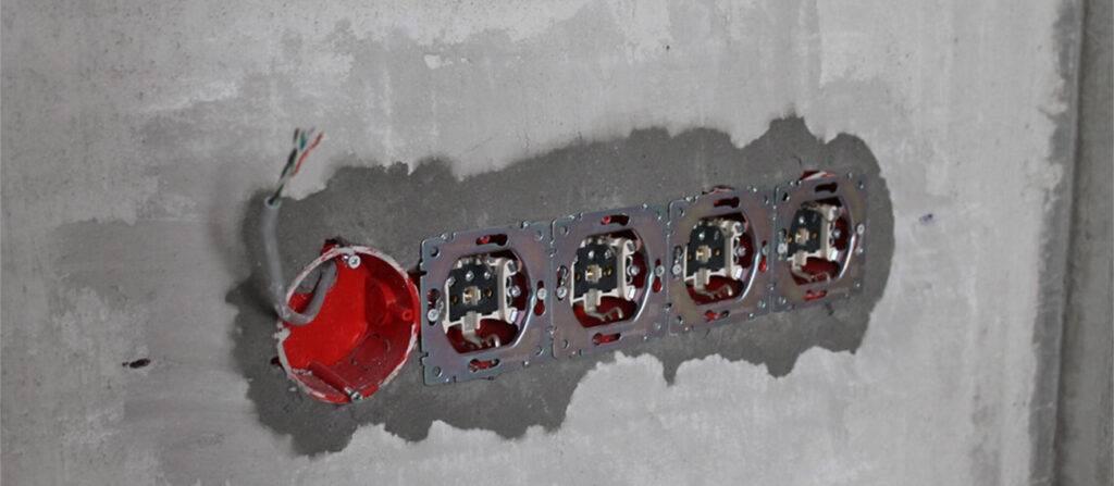 Установка розеток и выключателей в гипсокартон - всё о гипсокартоне