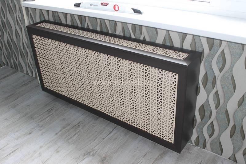 Декоративные решетки на радиаторы отопления - фото экранов и их средняя стоимость